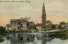The Church, Mill and River, Olney