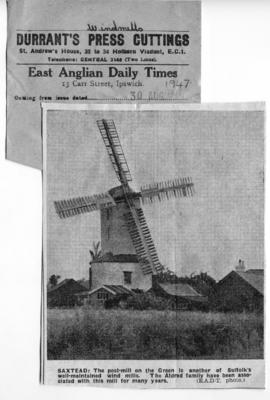 """A well-maintained wind mill"""