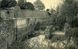 Demolished remains, watermill, Hardham
