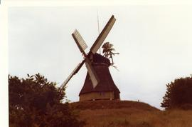 Restored smock mill at Hofer, St Michaelsdonn, West Germany