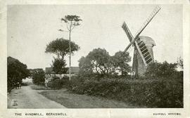 Postcard of working mill