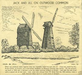 """Jack and Jill on Outwood Common"""