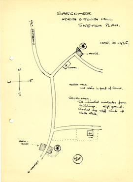 Barcombe mills sketch plan