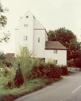 View from road, Littlebourne Mill, Littlebourne, Canterbury