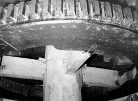 Great spur wheel, Ecchinswell Mill, Ecchinswell and Sydmonton