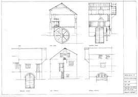 Adderbury Grounds Mill: Sections as existing