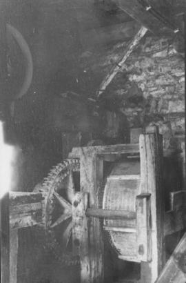 Unidentified mill interior machinery