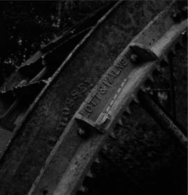 Waterwheel detail, Forston Farm Wheel, Charminster