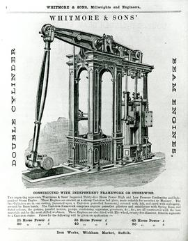 Double Cylinder Beam Engines Advertisement