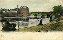 Salmon Fishing, River Dee, Chester