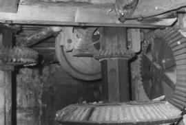 Upright shaft and gearing, Acomb Mill, Acomb