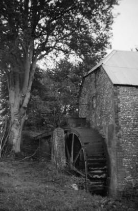 Watermill, Rackham, and waterwheel