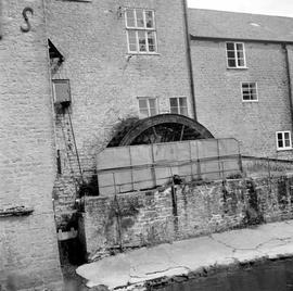 Old Brewery Mill, Bridport, from the river