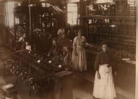 Workers at Woods Mill, Harpurhey, Manchester