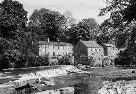 View across river, Demesnes Mill, Barnard Castle
