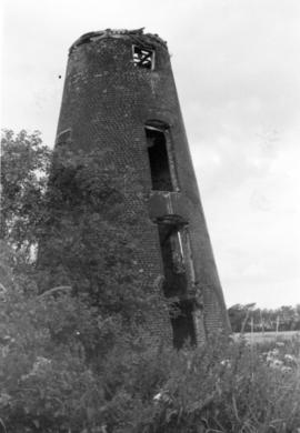 Derelict tower, Reed Mill, Kingston