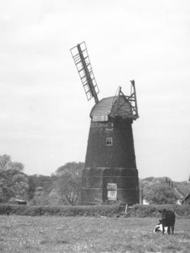 Banham Road Mill, Kenninghall, derelict