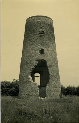 Damaged tower, Barker's Mill, Methwold