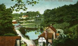 Upper Mill, Loose, and millpond