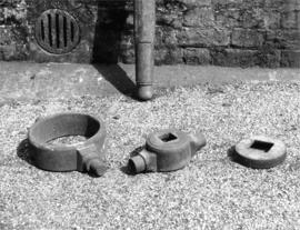 Iron components of rynd ex situ, Frost's Mill, Halstead