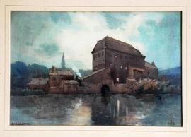 Image of painting of Ruswarp Mill