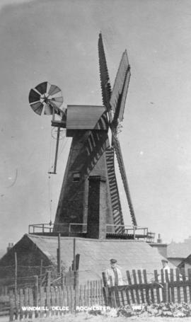 Delce Mill, Rochester, in working order