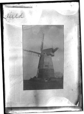 Windmill, West Hoathly, derelict with four sails