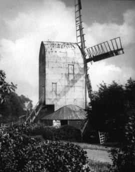 Post mill, Playden, disused