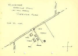 Broyle Mill, Ringmer sketch plan