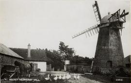 Medmerry Mill, Selsey, and surrounding buildings