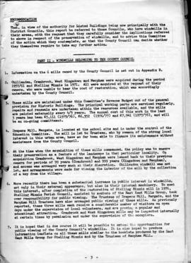 General report on surviving Kentish windmills (3 of 7)