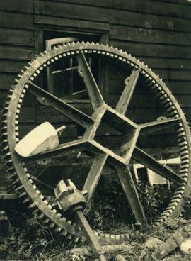 Great spur wheel, Stocks Green Mill, Hildenborough