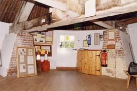 Ground floor of roundhouse, looking north, Stocks Mill, Wittersham