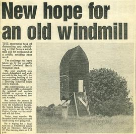 """New hope for an old windmill"""