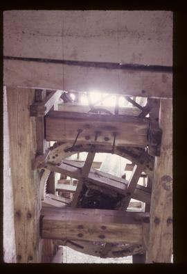Interior, tower mill, Nutbourne
