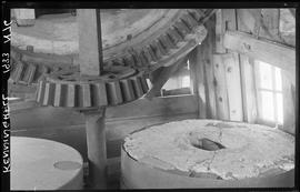 Wallower, brakewheel and stones, Chimney Mill, Kenninghall