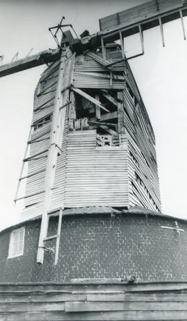 Close-up view, Downs Mill, Bexhill