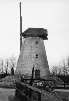 Tower mill, New Bradwell, and surrounding area