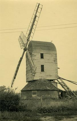 Post mill, Haughley
