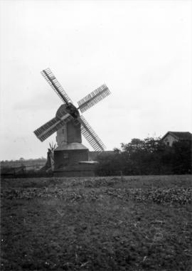 Webster's Mill, Framsden, at work