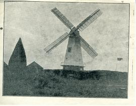 Smock Mill (newspaper cutting?)