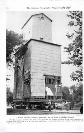 """Relocating a grain elevator in Illinois"""