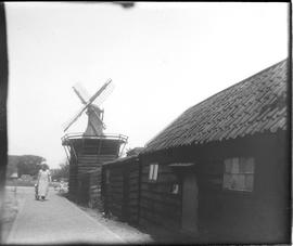 De Windhond smock mill, Zaandam-West, North Holland