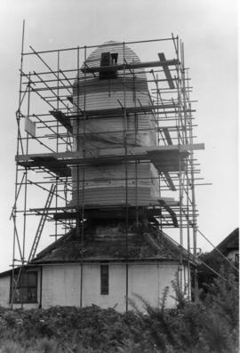 Buck under repair, Thorpeness Mill, Aldringham cum Thorpe