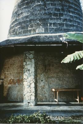 Photograph of the base of Mt Irvine Mill, Tobago