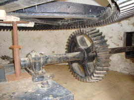 Pit wheel, Stracey Arms Mill, Tunstall