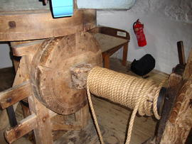 Sack hoist, Knowle Mill, Bembridge