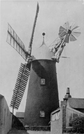 Heapham Windmill Exterior-working