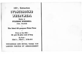 Styleham Windmill, Advertisement