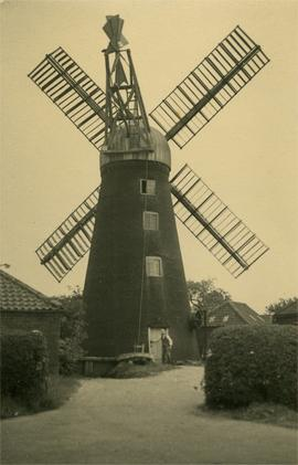 Subscription Mill, Sturton by Stow, with miller